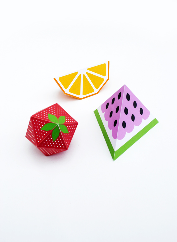 3D fruit by minieco