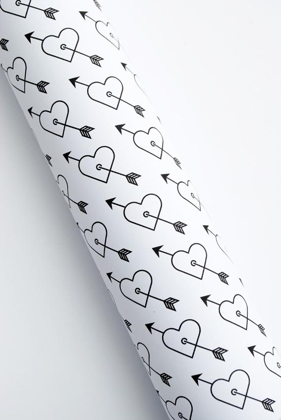 DIY 'Heart & Arrow' wrap