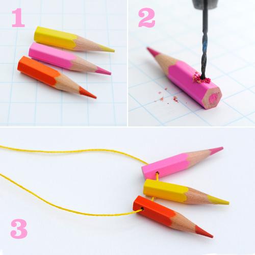 Как можно сделать карандаш 536