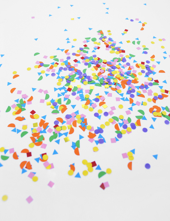 Shapes confetti