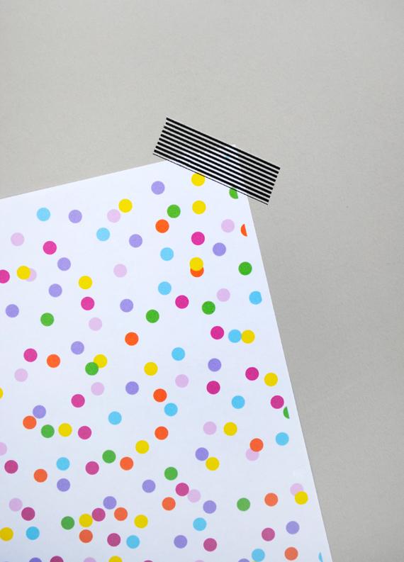 digital 'confetti' paper