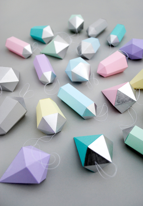 Paper gems // MiniEco: A Craft Book