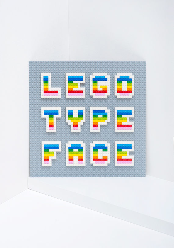 Lego Type Face // MiniEco: A Craft Book