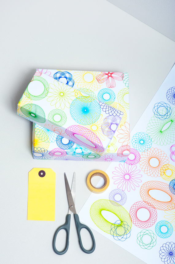 Spirograph Wrap // MiniEco: A Craft Book