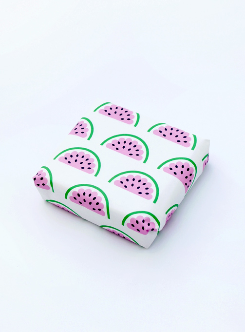 Printable watermelon wrap // freebie by minieco
