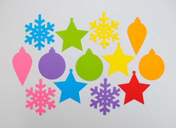 simple christmas tree decorations for kids
