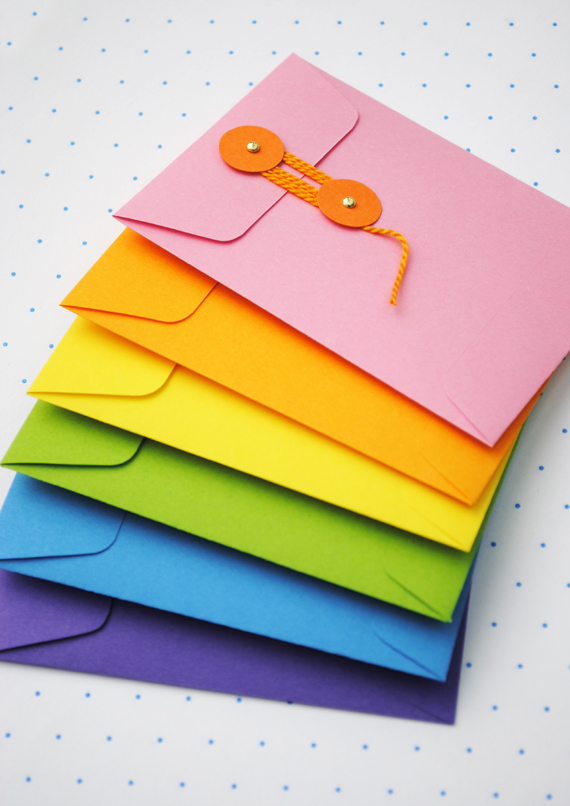 String-tie envelopes