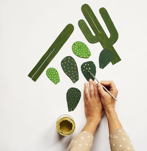 Paper cactus // Home ©2012 Hardie Grant Books