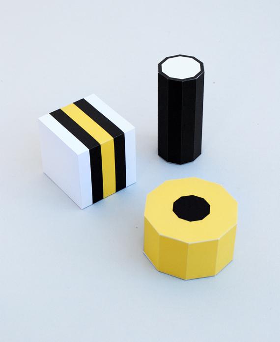 Paper Liquorice  Allsorts // Minieco