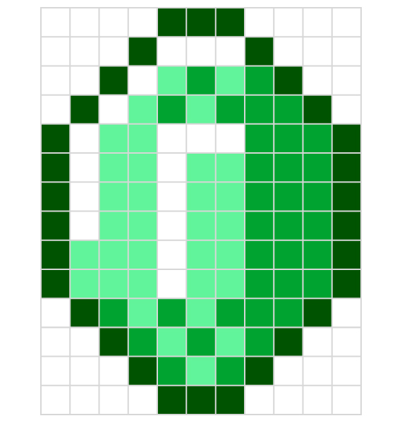 Minecraft designs for HAMA beads // printable PDF