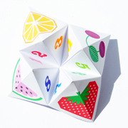 Origami fortune teller (aka chatterbox!)
