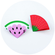 Fruity note cards // Triangular envelopes