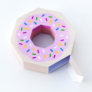 Giftwrap // Paper Donut!