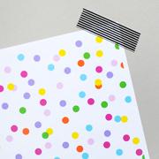 Printable confetti paper