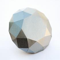 Paper diamond by Jean Carvalho
