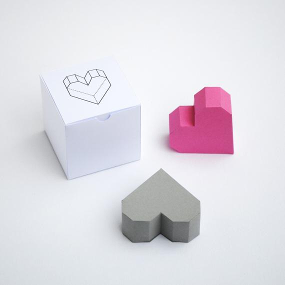 Papercraft regala tú corazón.