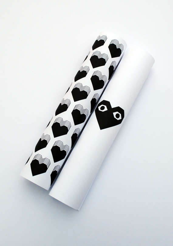Printable valentines wrap // by minieco