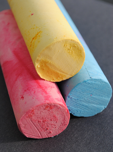 Homemade chalk