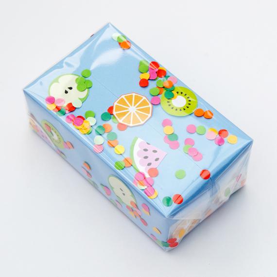 Confetti wrap // fruity edition