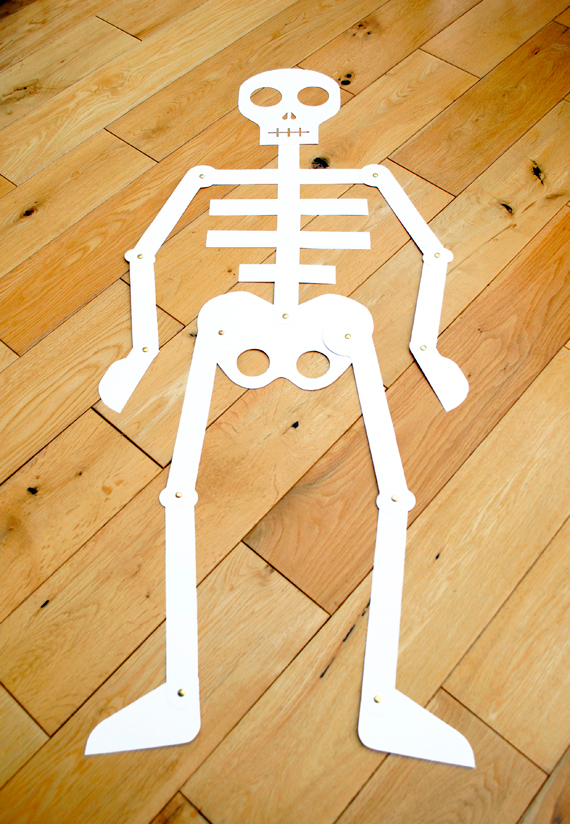 The crafty crow cut out and keep skeleton mini eco for Skeleton template to cut out