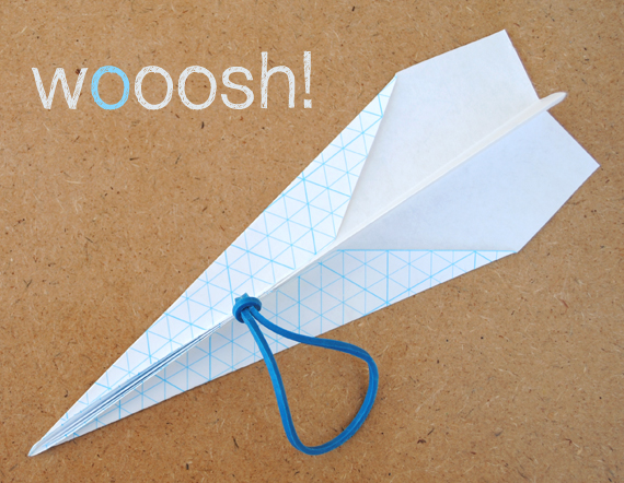 Airplane Craft Punch Paper