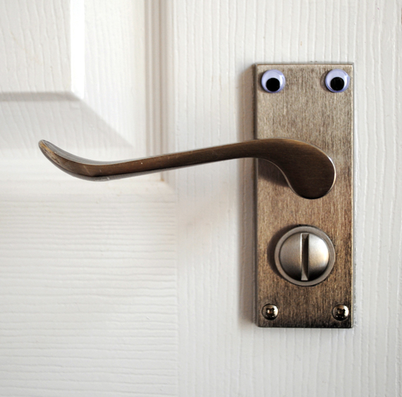 Prudish door handle!