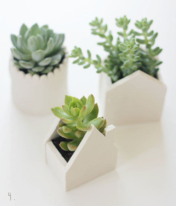 Say Yes to Hoboken: DIY Planters