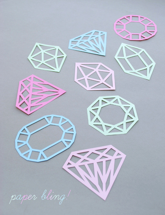 Paper Cut Gems Mini Eco