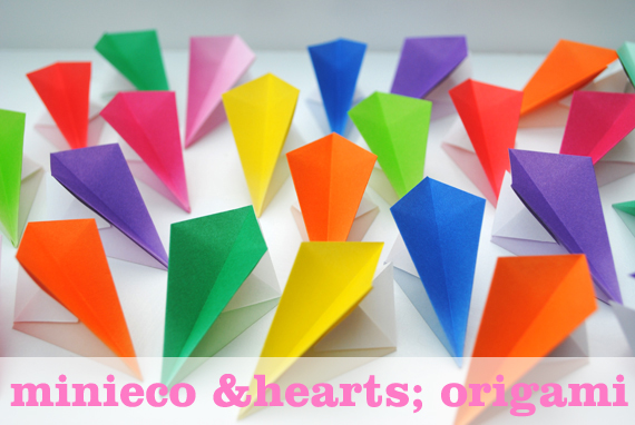 Origami hanging decorations | Mini-