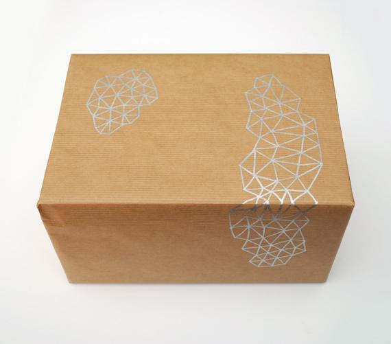 Hand-drawn giftwrap