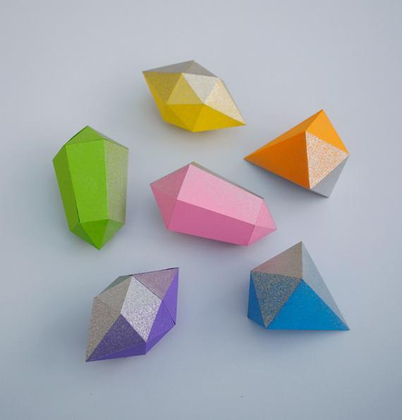 Paper gems