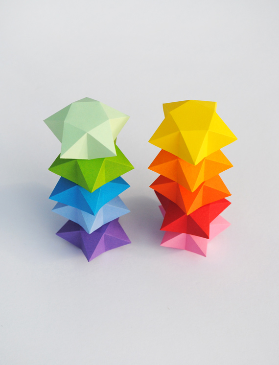 Origami Lucky Stars Easy Folding Tutorial | 746x570