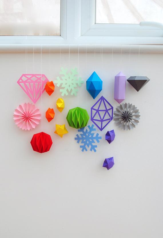 Paper stars // MiniEco