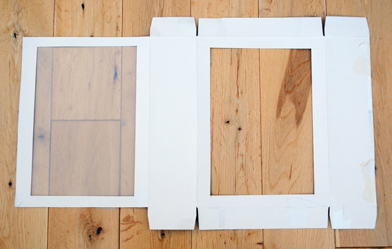 Next Cut Out Two Large Rectangles On Each Face Of The Cereal Box Need To Be 19 X 28cm If You Are Using A That Is 21x30 Cm