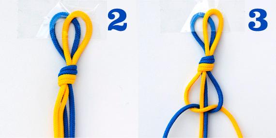 Macrame: half knot spiral