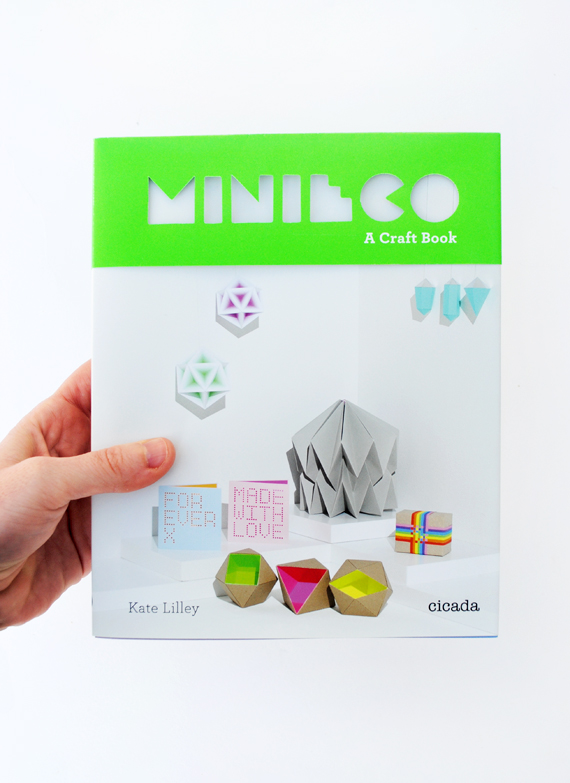 MiniEco: A Craft Book // 5 copies to giveaway