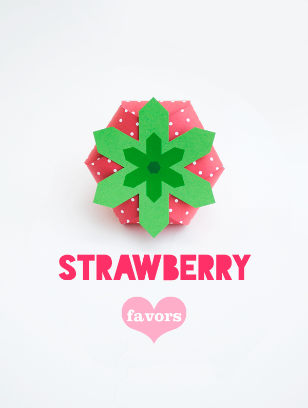 Strawberry treat box // Oh happy day