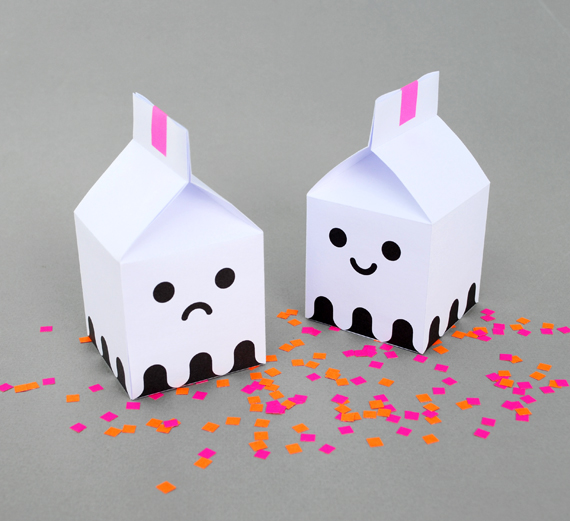 Ghost treat boxes by minieco