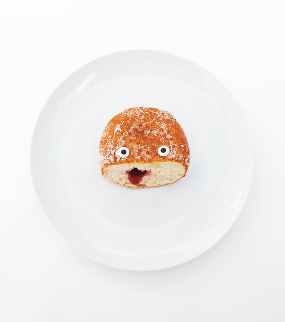 Edible eyes // Halloween food