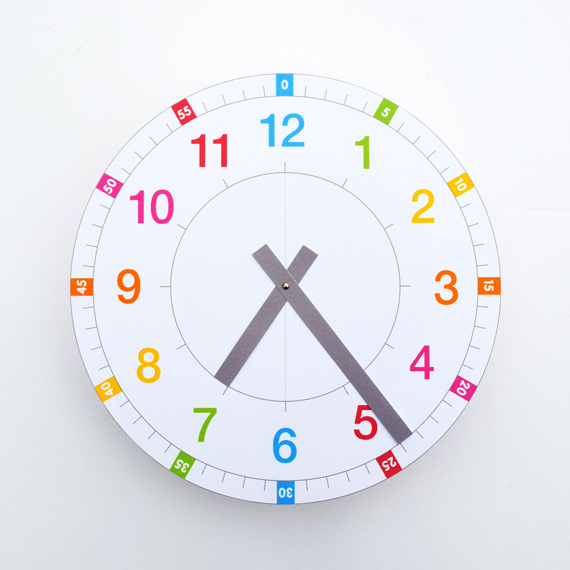 Juicy image throughout printable clocks