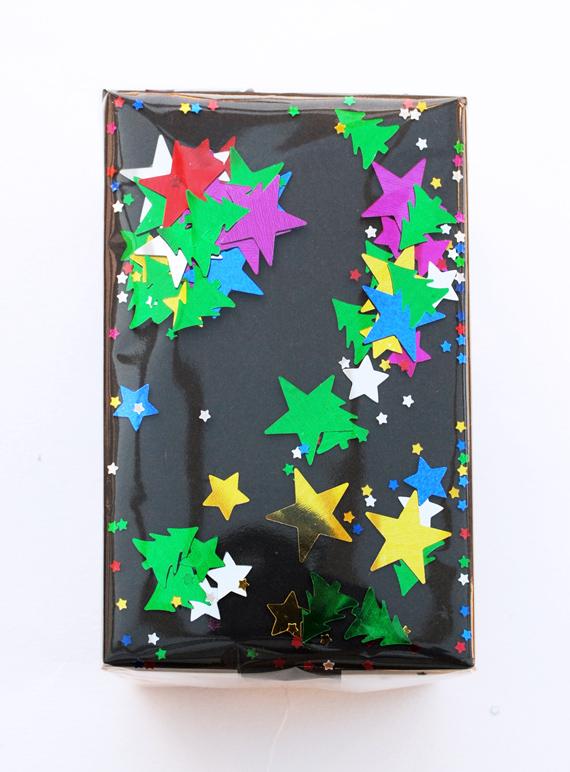 Confetti wrap // Christmas edition