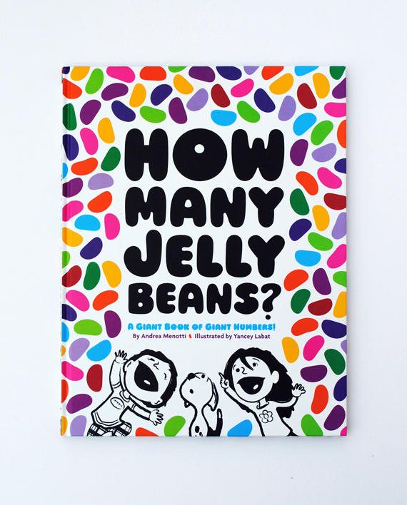 Book // How many jellybeans? A Giant Book of Giant Numbers