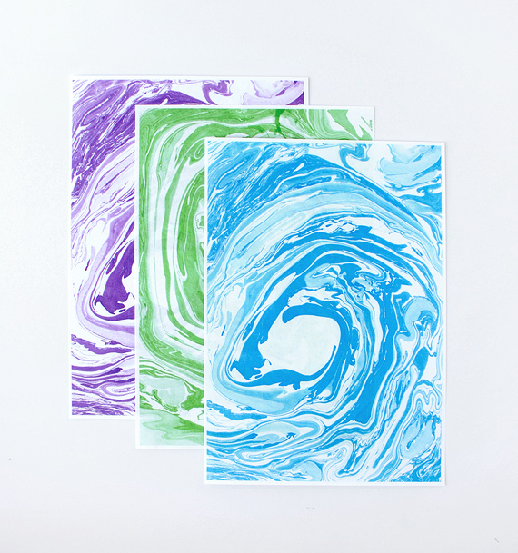 printable paper // marbled edition