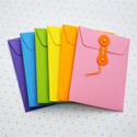 DIY string tied envelopes