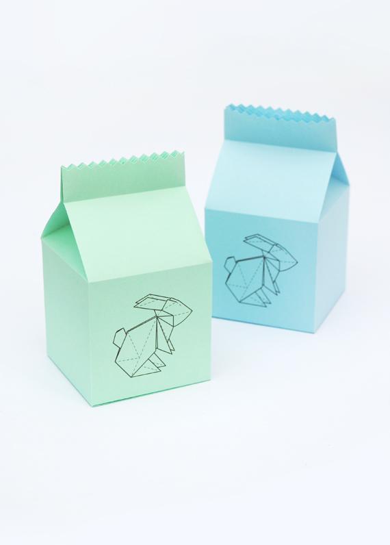 easter  u0026 39 origami bunny u0026 39  treat box
